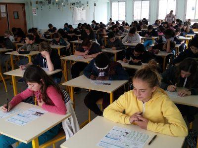 Collège Debussy à Romans-sur-Isère: 79 élèves ont planché avec sérieux et plaisir sur le Big Challenge!