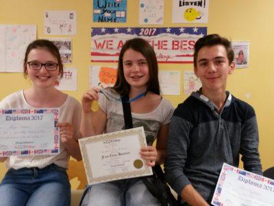 Collège Léonard de Vinci, Bouffémont (95) Our best 3e students ! Congratulations to you, guys !