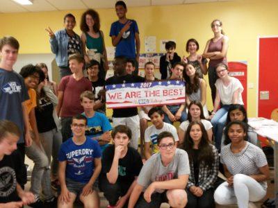 Collège Léonard de Vinci, Bouffémont (Val d'Oise) Les participants de 3e - Good job, everyone !
