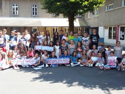 SAINT-CERNIN, Collège Henri Mondor Bravo à tous les participants!