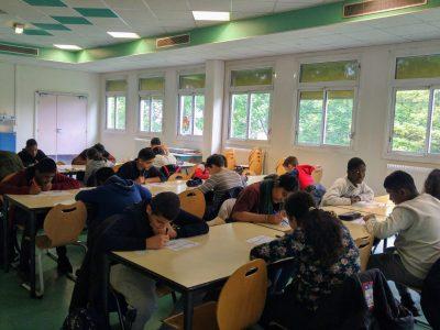 Bonne chance aux élèves du collège Claude Debussy, Aulnay-Sous-Bois !