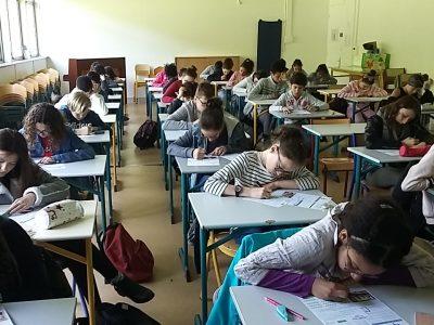 Collège Bégon à Blois Beaucoup de concentration et de motivation ! Nous sommes très fiers de l'implication de nos élèves ! Vive le Big challenge !