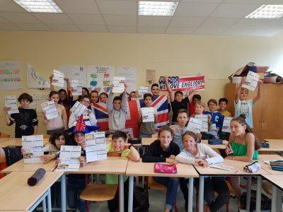 Nos élèves de 6eme du collège Jean Cocteau de Beaulieu sur Mer !