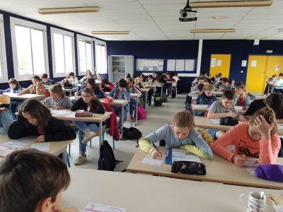 La reole Collège Paul Esquinance Big Challenge 2018