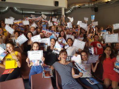 Institution Notre-Dame à Toulon. Congratulations to our 110 pupils!