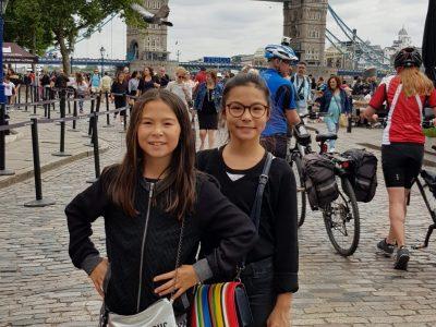 Rouen Tran-Minh Sixtine Collège Camille Saint Saens  Voici une photo de mon voyage à Londres. ; )