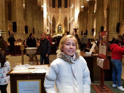 Marguerittes   Collège Lou Castellas Petite visite de la cathédrale saint Patrick à New York... ; )