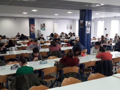 80 élèves étaient inscrits cette année au collège Albert JACQUARD de LURE en Haute-Saône.