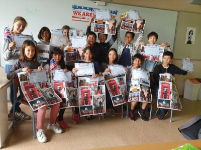La classe de 6e du Lycée Français de Tokyo