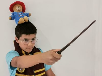 Grigny ,collège Emile Malfroy    Je part combattre Lord Voldemort avec mon ami Paddington : My name  is Harry Potter !!!
