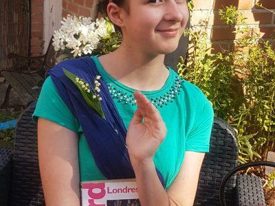 Lambersart collège:sainte Odile  Rien ne vaut une petite tasse de thé avec la reine d 'Angleterre !!!