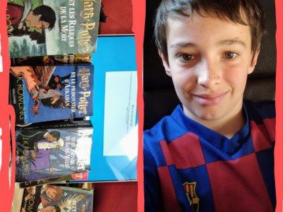 Creully collège jean de la Varende ils ne servent pas que a les lire les Harry Potter   j'ai adore faire ce challenge