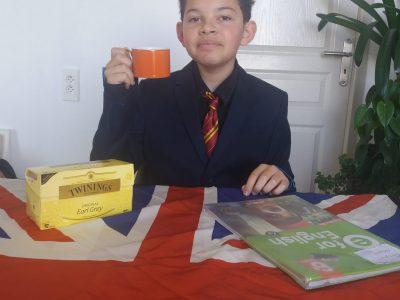 Tourettes-Levens  Collège René Cassin  So British, Do you want a cup of tea?
