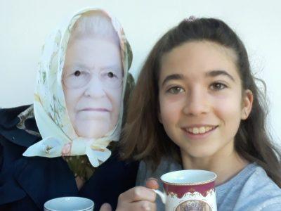 Gap collège Fontreyne. Un autre Big challenge : tea time with THE QUEEN !