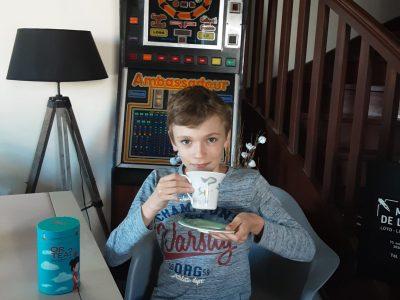 Rueil-malmaison / collège les martinets je boit du thé comme en Angleterre