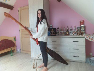 Le monde d'Harry Potter dans ma chambre
