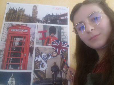 Sainte geneviève des bois, Collège Jules Ferry I love you London