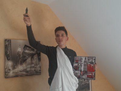 Ville : St Sylvain d'Anjou Collège : Jeanne d'arc Ma photo représente la Statue de la Liberté Quentin BASSET 3ème D