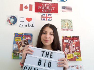 I love English. ;)