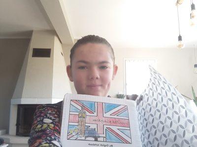 Cléder Notre Dame d'Espérance. Voici mon cahier d'anglais dans lequel il y a plein de leçon et d'évaluation en anglais trés enrichissant.