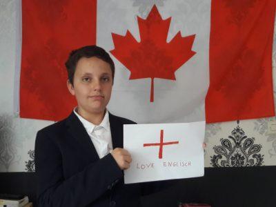 Leveque Paul collège st Paul Soissons(02) In Canada we speak Englisch