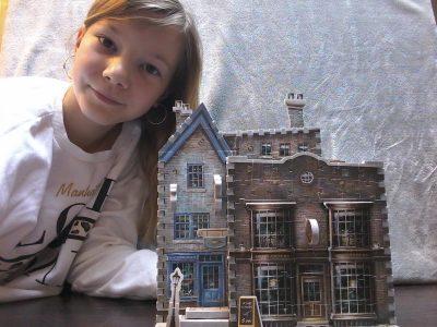 Novalaise Collège de l'Épine  Moi et le magasin d'Ollivander de Harry Potter  en puzzle 3D