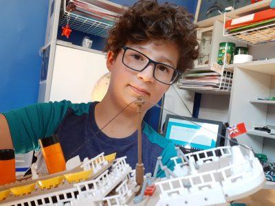 HOUILLES, INSTITUT SAINTE THÉRÈSE  Ma maquette la plus cool : LE TITANIC !