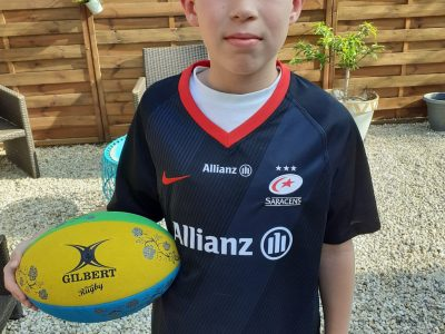 Pierrelatte - Collège Saint Michel. I love rugby and the Saracens team. HIS Alexis