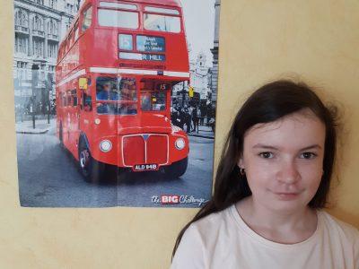 collège de l'outre foret à Soultz-sous-foret Bus de LONDON