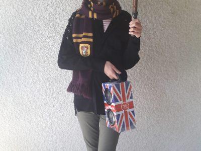 Yenne Collège Charles Dullin   Pour moi Harry Potter représente bien l'Angleterre. Good luck , rendez vous à Poudlard ! :)