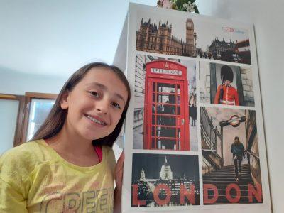 Thoissey, Collège Bel Air.  Mon plus grand rêve : aller à Londres.  I love you The Big Challenge.  Eva Guerreiro-Rodrigues
