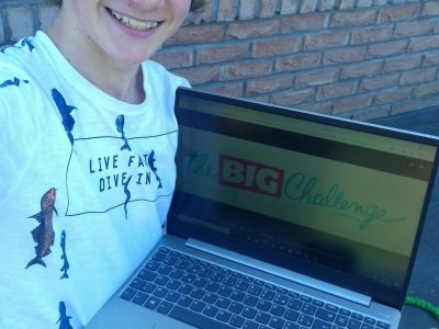 Collège Schaffner >Roost-Warendin   le big boss du Big challenge !  love from the king ; )