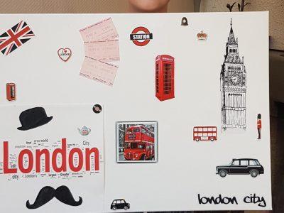Marly la ville, collège Françoise Dolto souvenir mon voyage en famille à Londres pour mes 10 ans
