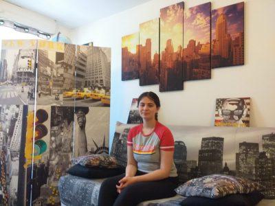 Ville: Compiègne College: Jean Paul 2  A vos studio depuis New York