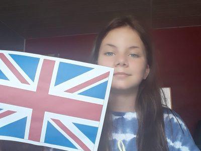 Bonjour j ai trouver un drapeau Anglais j espere que ma photo va vous plaire bonne journée  Lylou ROUAULT