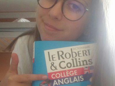 priscille college marcel carnet l'anglais donne un gros bol d'air frais!!!