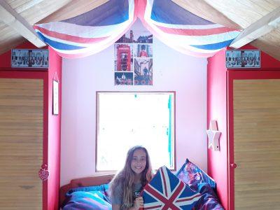 Deshaies Guadeloupe Collège Felix Aladin Flemin  I love London !!!