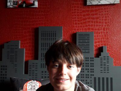 Ville: Albi  Collège Bon-Sauveur   voici ma photo  prise dans ma chambre 100% English !!!