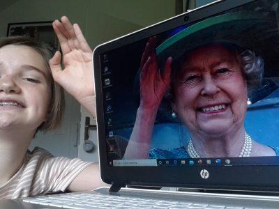 Annecy, collège Saint Michel. Do you that I am a friend of Queen Elizabeth ?!