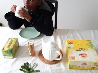 """Enjoying my tea time""  Collège de Marcq, 59700 Marcq-en-Baroeul"
