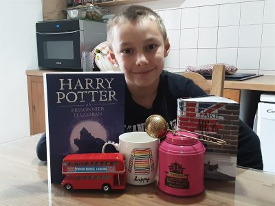 Bourg saint Maurice collège saint Exupery  I love English. I love Harry Potter and  my dream is to go to London
