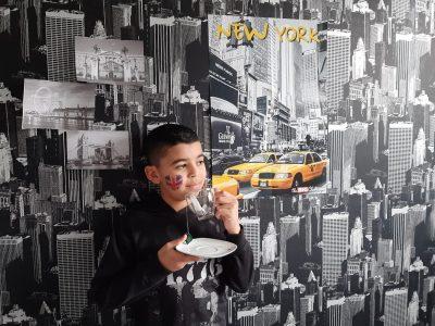 GIVORS COLLEGE PAUL VALLON   I LOVE NEW YORK AND TEA