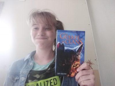 Pleine fougères François brune Erin Hunter meilleur  ecrivaine  anglaise et une amoureuse  des chats  !!!