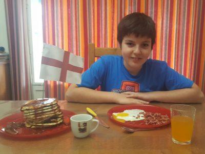 François d'assis Roanne salut j'adore le petits déjeuner anglais