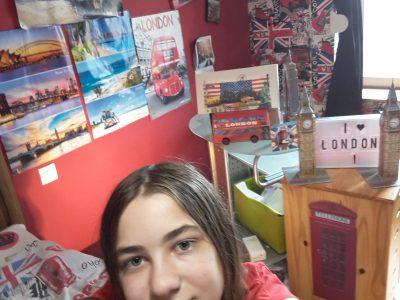 Ville:Baccarat    collège: collège de Baccarat  Photo de la décoration de ma chambre.