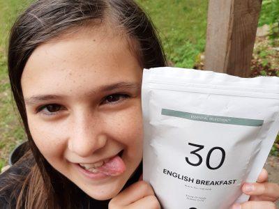 Le PIAN SUR GARONNE (33), Collège Elise Deroche Je m'appelle Anwen, je suis en 5e.  Voici un thé tout droit venu d'Angleterre :)  For a good Breakfast!!
