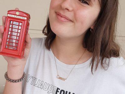 Avrillé collège clément jannequin  Voici la cabine téléphonique de London