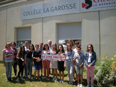 Bravo aux participants du Collège La Garosse de Saint-André-De-Cubzac !