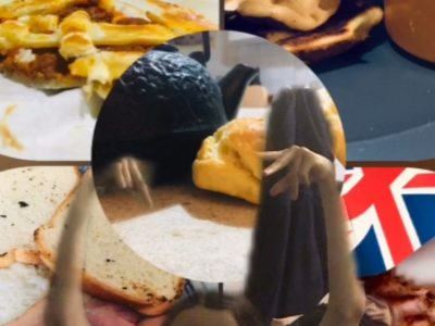 Marseille Cours Bastide. Cette semaine je devais partir à Londres avec ma classe. Mais à cause des conditions sanitaires  actuelles le voyage a été annulé. Avec ma famille nous avons décidé de faire des repas anglais la photo en rassemble quelques uns.