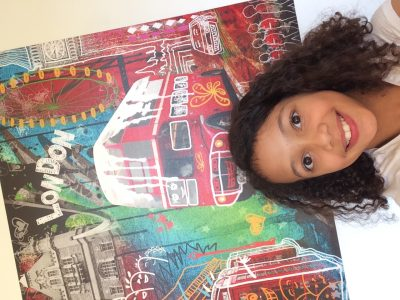 Ville : Carrières sur Seine  Nom : Collège Les Amandiers  Commentaire : «Je suis à Londres et j'ai vu plein de chosesdifférentes ! »  Inaya Jacques